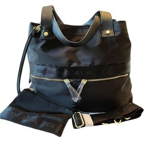 Steve Madden Weekender Travel Overnighter Tote Bag